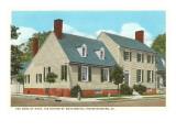 Washington's Mother's Home, Fredericksburg, Virginia Prints