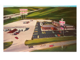 Huge Texaco Service Plaza Posters