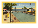 Casino Swimming Pool, Santa Barbara, California Prints
