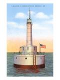 Leuchtturm, Green Bay, Wisconsin Poster
