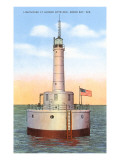 Lighthouse, Green Bay, Wisconsin Posters