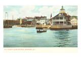 Yacht Club, Newport, Rhode Island Prints