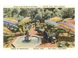Cafe del Rey Moro, Balboa Park, San Diego, California Posters