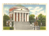 Rotunda, University of Virginia, Charlottesville Posters