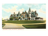 The Rocks, Clew House, Newport, Rhode Island Posters