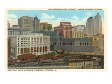 Skyline, Pittsburgh, Pennsylvania Prints
