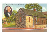Washington's Headquarters, Winchester, Virginia Poster