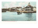Yacht Club, Newport, Rhode Island Print