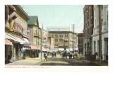 Main Street, Pawtucket, Rhode Island Prints