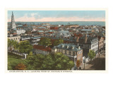View over Charleston, South Carolina Prints