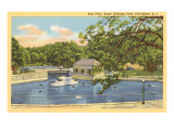 Seal Pond, Roger Williams Park, Providence, Rhode Island Print