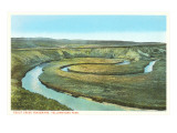 Spiral Trout Creek, Yellowstone National Park Posters