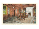 Governor&#39;s Reception Room, State Capitol, Madison, Wisconsin Posters