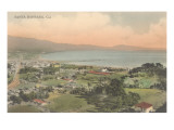Early Overview of Santa Barbara, California Prints