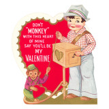 Don't Monkey with this Heart, Organ Grinder Art