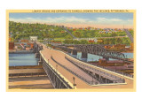 Liberty Bridge, Pittsburgh, Pennsylvania Prints