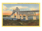 Jamestown Bridge, Narragansett Bay, Rhode Island Posters