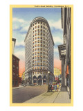 Turks Head-Gebäude, Providence, Rhode Island Kunstdrucke