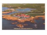 Hurricane Hut, Ocean Drive, Newport, Rhode Island Prints