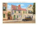 Pink House, Old Tavern, Charleston, South Carolina Print