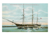 Tall Ship Constellation, Newport, Rhode Island Posters
