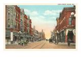 Sixth Street, Racine, Wisconsin Prints