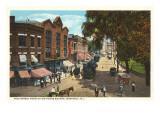 High Street, Westerly, Rhode Island Prints