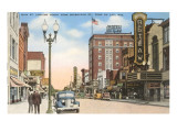 Main Street, Fond du Lac, Wisconsin Posters