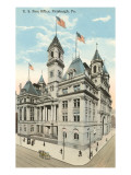 Post Office, Pittsburgh, Pennsylvania Posters