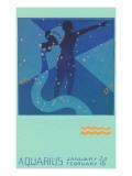 Aquarius, the Water Bearer Posters