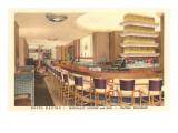 Lounge, Hotel Racine, Racine, Wisconsin Posters