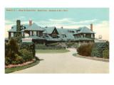 Bleak House, Perry Residence, Newport, Rhode Island Print