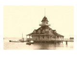 Coronado Boat House, San Diego, California Prints