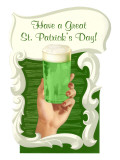 Green Beer for St. Patrick's Day Prints