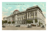 Public Library and Museum, Milwaukee, Wisconsin Print