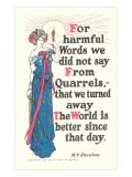 Don't Quarrel Posters