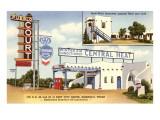 Pueblo Court Motel Art