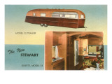 Travel Trailer with Dinette Prints