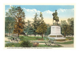 Hampton Monument, Columbia, Charleston, South Carolina Prints