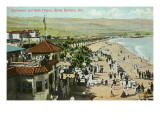 Bath House, Santa Barbara, California Posters