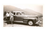 Couple Vacationing in the Forties Print