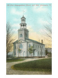 Congregational Church, Bennington, Vermont Prints