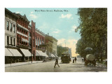 West Main Street, Madison, Wisconsin Photo