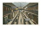 Arcade Interior, Providence, Rhode Island Print