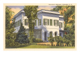 Governor's Mansion, Columbia, South Carolina Print