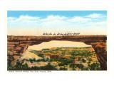 Edwin-Naturbrücke, Utah Kunstdrucke