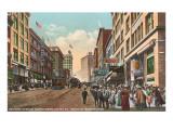 Second Avenue, Seattle, Washington Prints