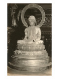 Statue of the Buddha Print