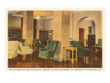 Interior, Cathedral of Learning, Pittsburgh, Pennsylvania Prints