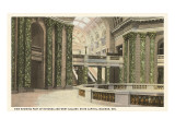 Interior, State Capitol, Madison, Wisconsin Prints